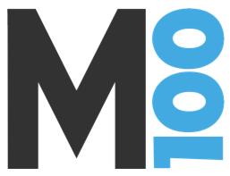 millennial 100 logo